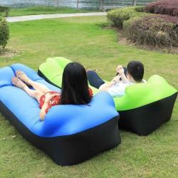 Inflatable Air Sofa Lazy Men Women Children Sleeping Bag Outdoor