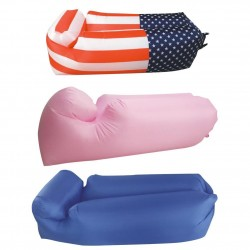 Inflatable Sun Lounger Air Sofa Waterproof Portable Beach Summer