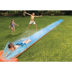 5.5m Inflatable Water Slide For Kids Summer Big Pool Swimming Games
