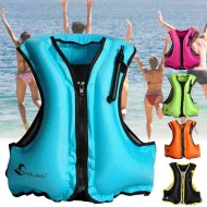 Inflatable Swim Vest Life Buoy Swimming Surfing Water Sports