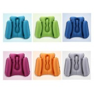 Multifunction Inflatable Waist Pillow Office Chair Travel Pillow Support Lower Back Cushion