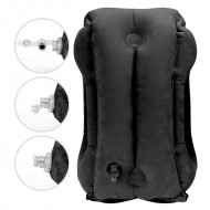 Portable Inflatable Pillow Body Back Support Foldable Blow Neck
