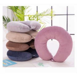 Comfortable U-Shape Neck Pillow For Travel and Sleep