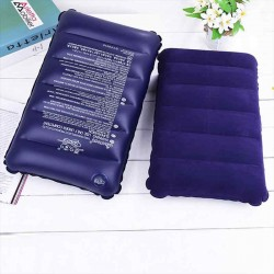 Inflatable Air Pillow Travel Outdoor Comfortable Protect Head and Neck