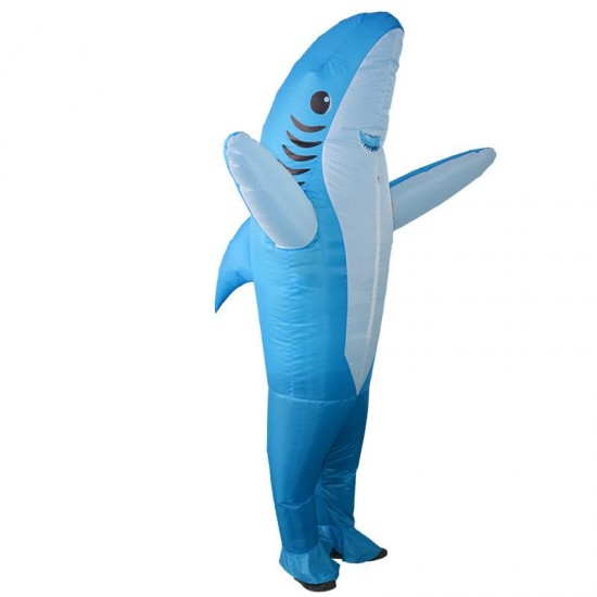 Shark Inflatable Costume Halloween Inflatable Christmas Costume Blow Up Costume
