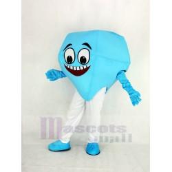 Blue Diamond Mascot Costume
