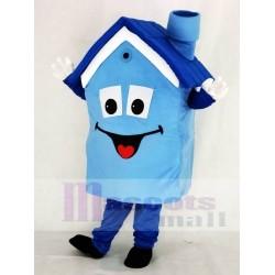 Blue House Mascot Costume