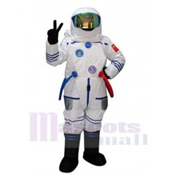 Astronaut Spaceman Mascot Costume People