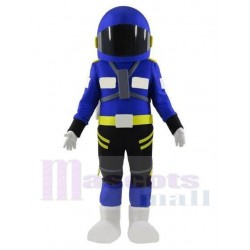 Astronaut Mascot Costume in Navy Blue Spacesuit People