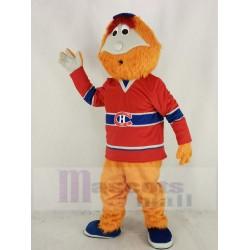 Montreal Canadians Man Mascot Costume Ice Hockey