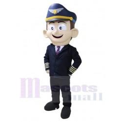 Airplane Pilot Sky Mascot Costume People