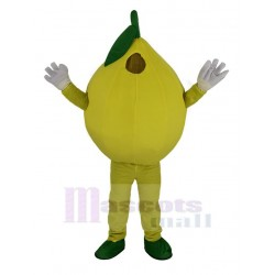Yellow Lemon Mascot Costume
