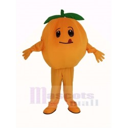 Orange Fruit Mascot Costume
