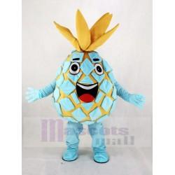 Aqua Pineapple Pete Fruit Mascot Costume