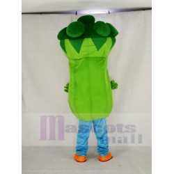 Bruce Broccoli Mascot Costume