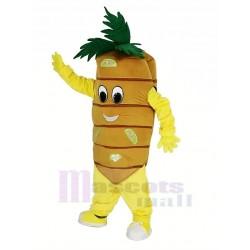 Carrot Vegetable Mascot Costume Cartoon